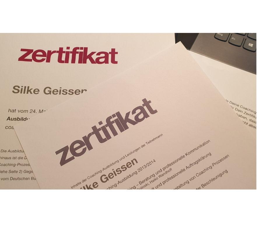 Coach-Zertifikat